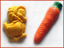 candy duck and carrot