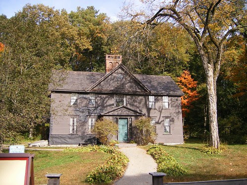 Orchard House where Louisa May Alcott wrote Little Women