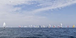 Rund Skagen fleet sailing off Germany