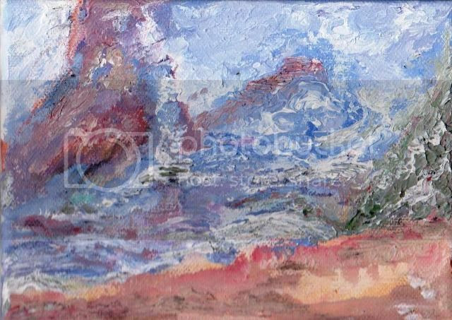 Wild Coast, Acrylic on Canvas by Amitabh Mitra photo miniature 1_zpsbrrkbxse.jpg