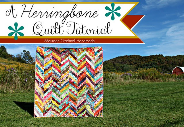 A Herringbone Quilt Tutorial