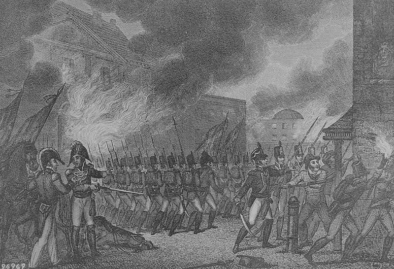 "File:""Capture of the City of Washington,"" August 1814, 1814 - NARA - 531090.jpg"