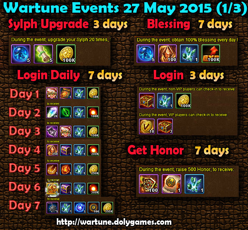 Wartune Events 27 May 2015 - 1