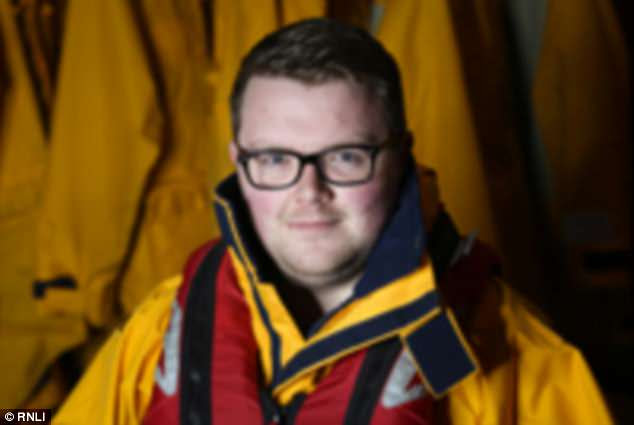 Trainee RNLI volunteer Joe Winspear (pictured), 26, was the other crew member to be sacked