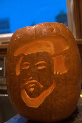 John Calvin a la pumpkin