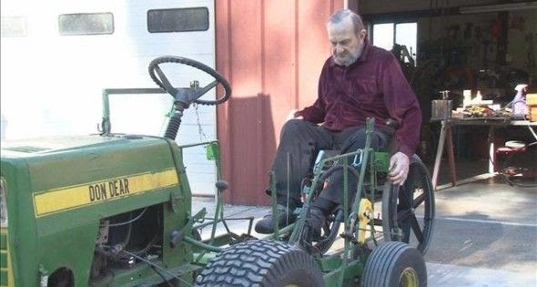 Man In Wheelchair Adapts Equipment To Live Life His Way