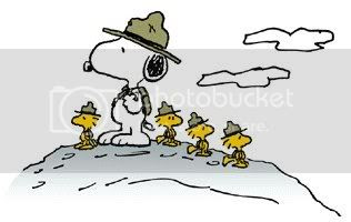 Snoopy The Scout Leader
