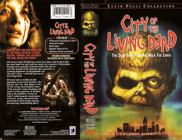 City Of The Living Dead (VHS Box Art)