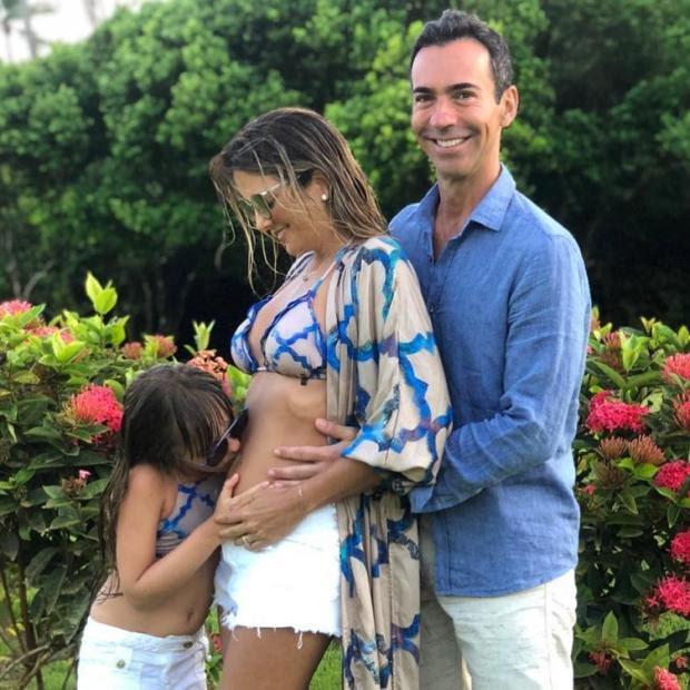 Ticiane Pinheiro e César Tralli anunciam gravidez Instagram / Reprodução/Reprodução