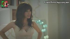Filipa Pinto sensual na novela A Prisioneira