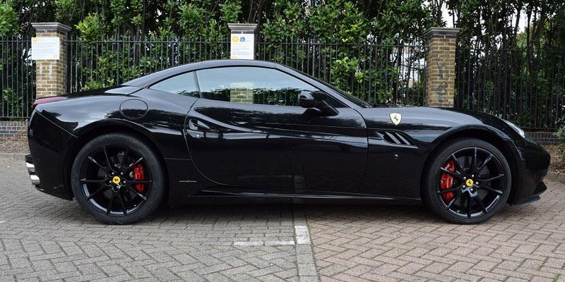 Ferrari California F1 Hire London - PB Supercar Hire