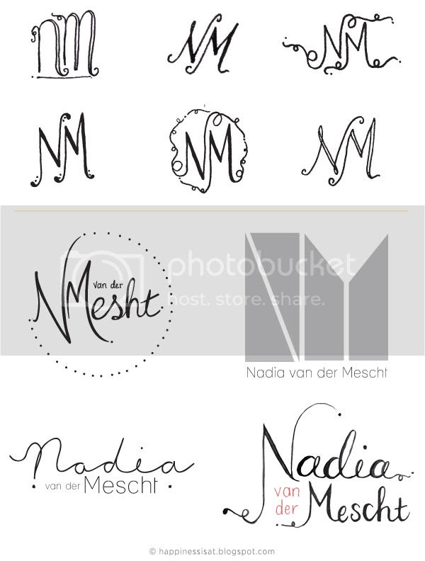 Logo Design and Rebrand for Durban creative, Nadia van der Mescht