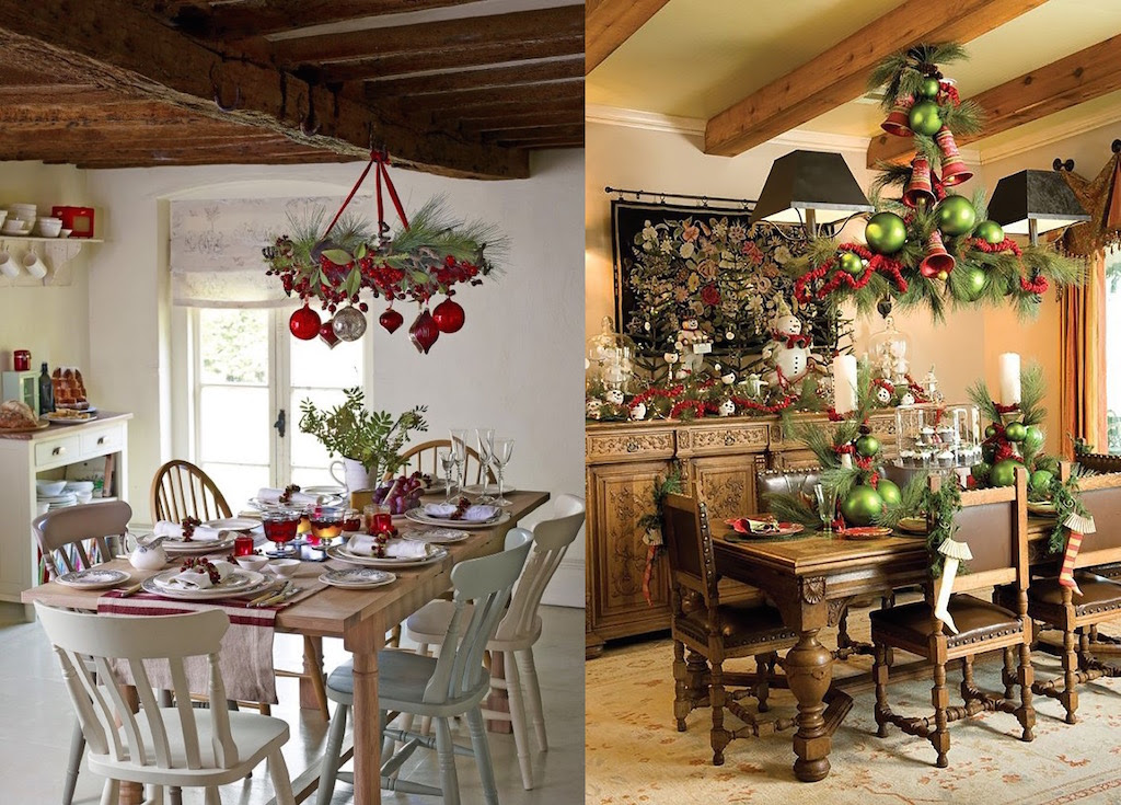 25 Christmas Dining Room Decorations Ideas To Inspire You  Interior God