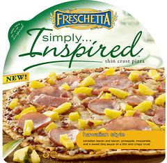 Freschetta Simply Inspired Hawaiian Style Pizza