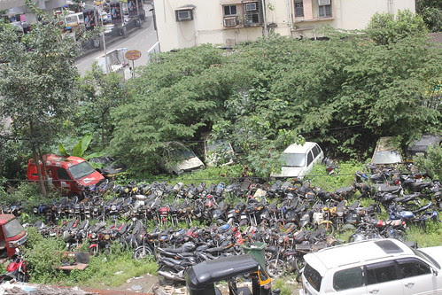 The Car Bike Cemetery Bandra by firoze shakir photographerno1