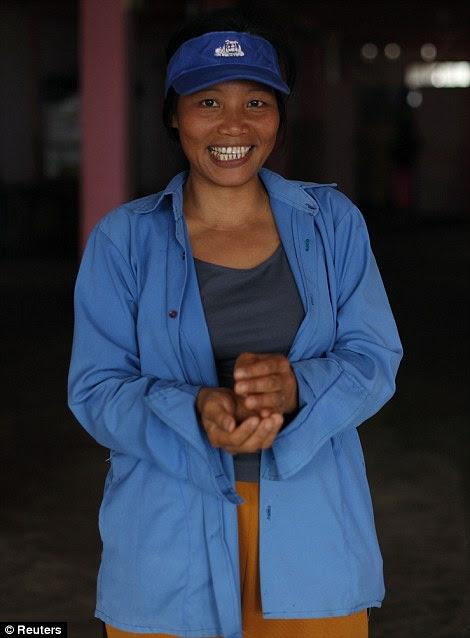 Lawmii, 34 anos, a 35ª esposa de Ziona