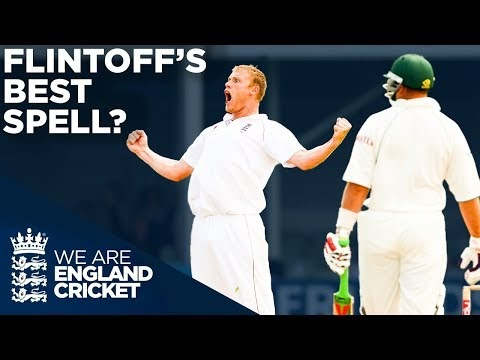 Andrew Flintoff's Best Ever Bowling Spell In Test Cricket?