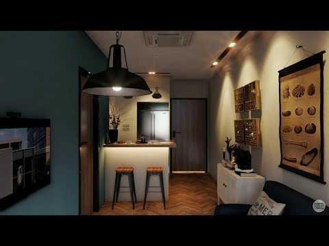 Lakeside Apartment, USA - Interior Animation