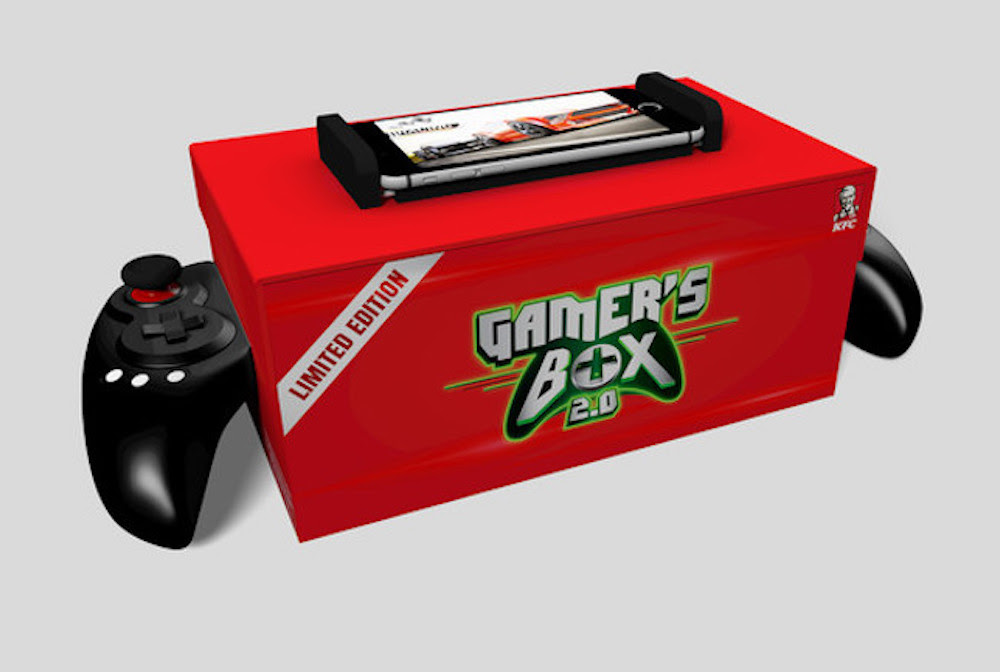 This is real life: KFC and Mountain Dew are selling a box o' chicken-filled game controller screenshot