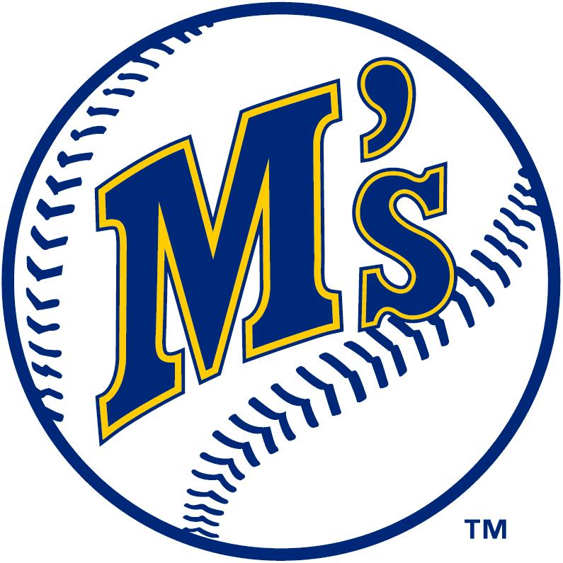Seattle Mariners Primary Logo - American League (AL ...
