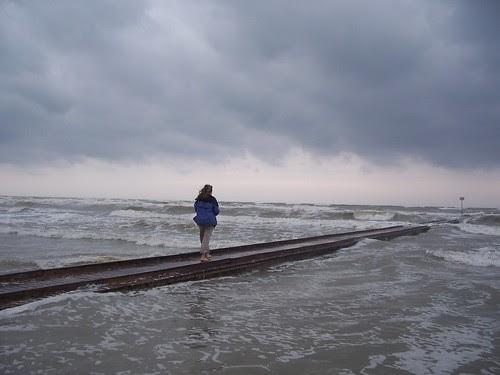 The sea at my feet
