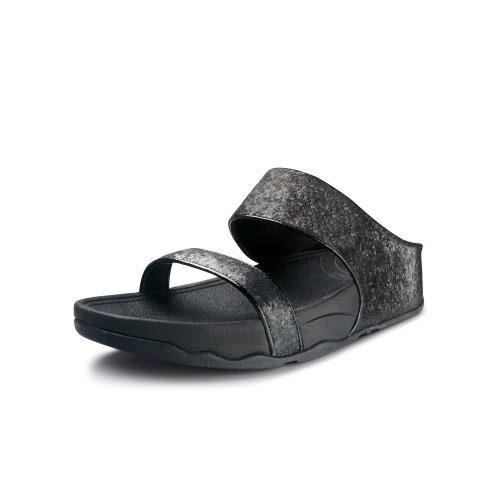 5bcecdf735eb16 FitFlop Sandals Ciela Slide Black Black UK6