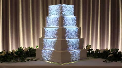 Projection Mapped Wedding Cake   Luma Bakery   YouTube