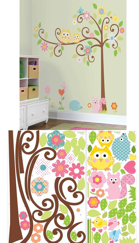 Scroll Tree Mega Pack Wall Stickers - Wall Sticker Outlet