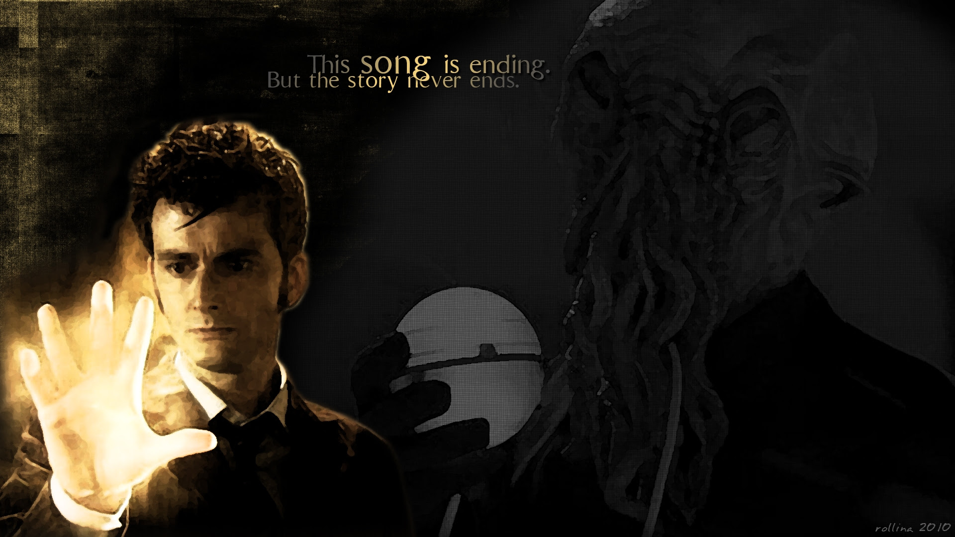 David Tennant Ood Doctor Who Tenth Doctor 1920x1080 Wallpaper High