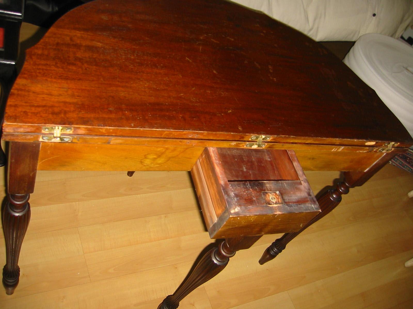 Mersman A Regency Mahogany Inlaid Card Table For Sale Antiquescom