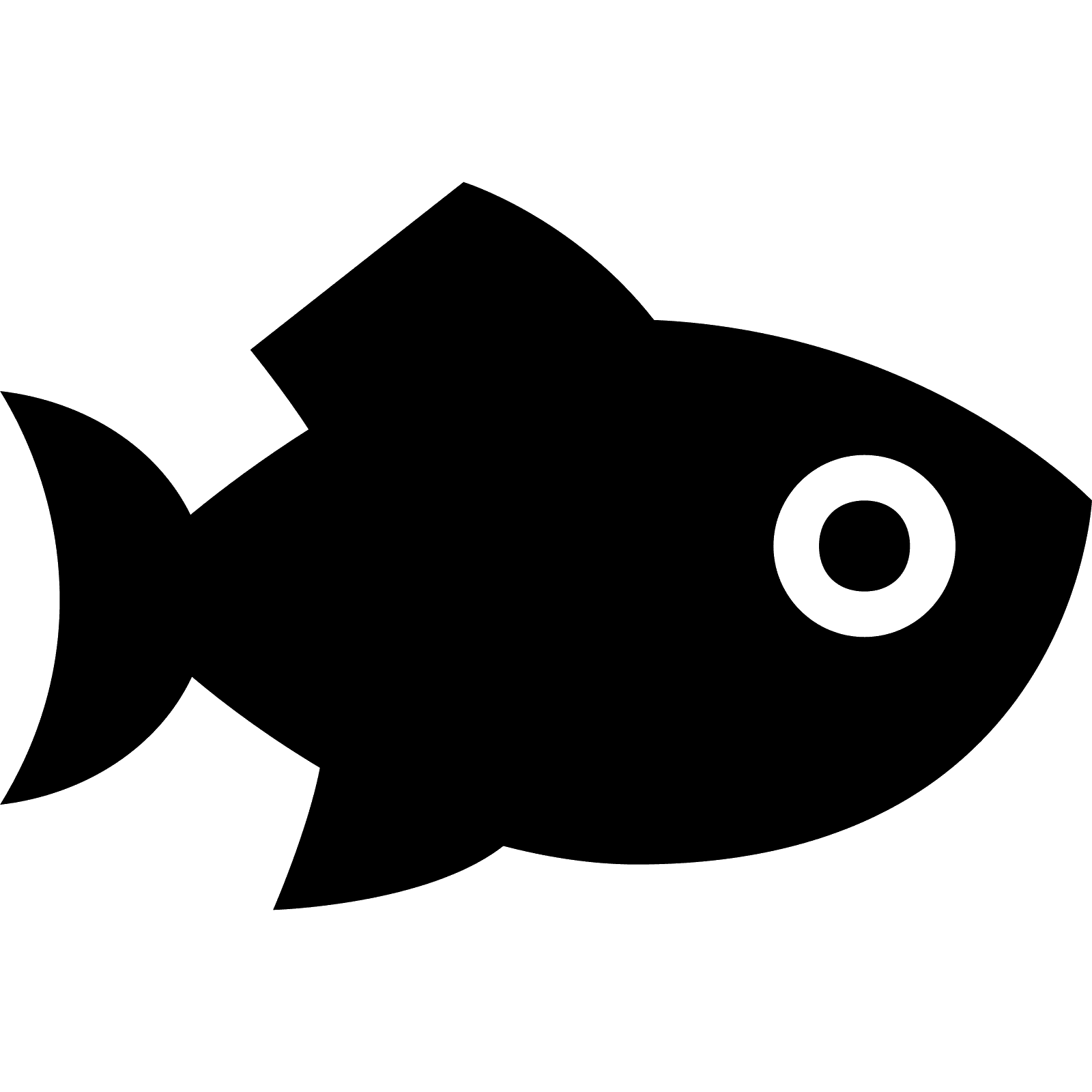 Download Computer Icons Fishing Food Silhouettes Png Download 1600 1600 Free Transparent Computer Icons Png Download Clip Art Library