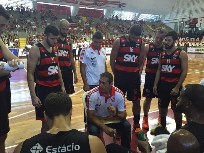 Flamengo x São José NBB (Foto: Karen Duarte)