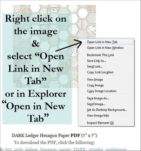 right click copy