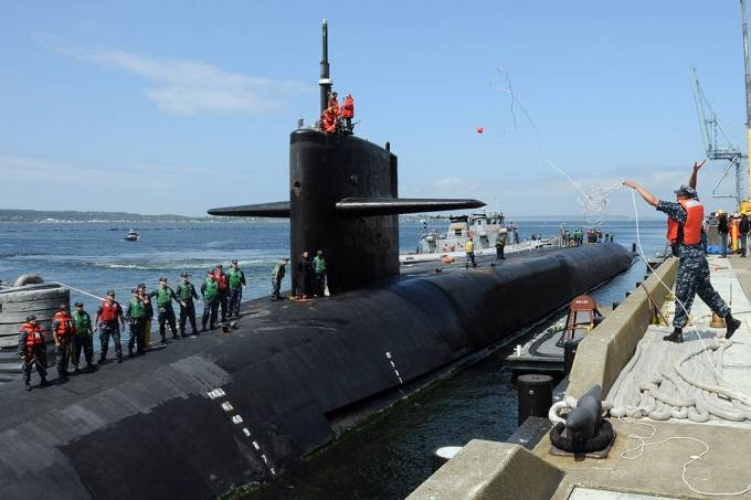 3ª Guerra Mundial: Trump manda submarino nuclear à península coreana