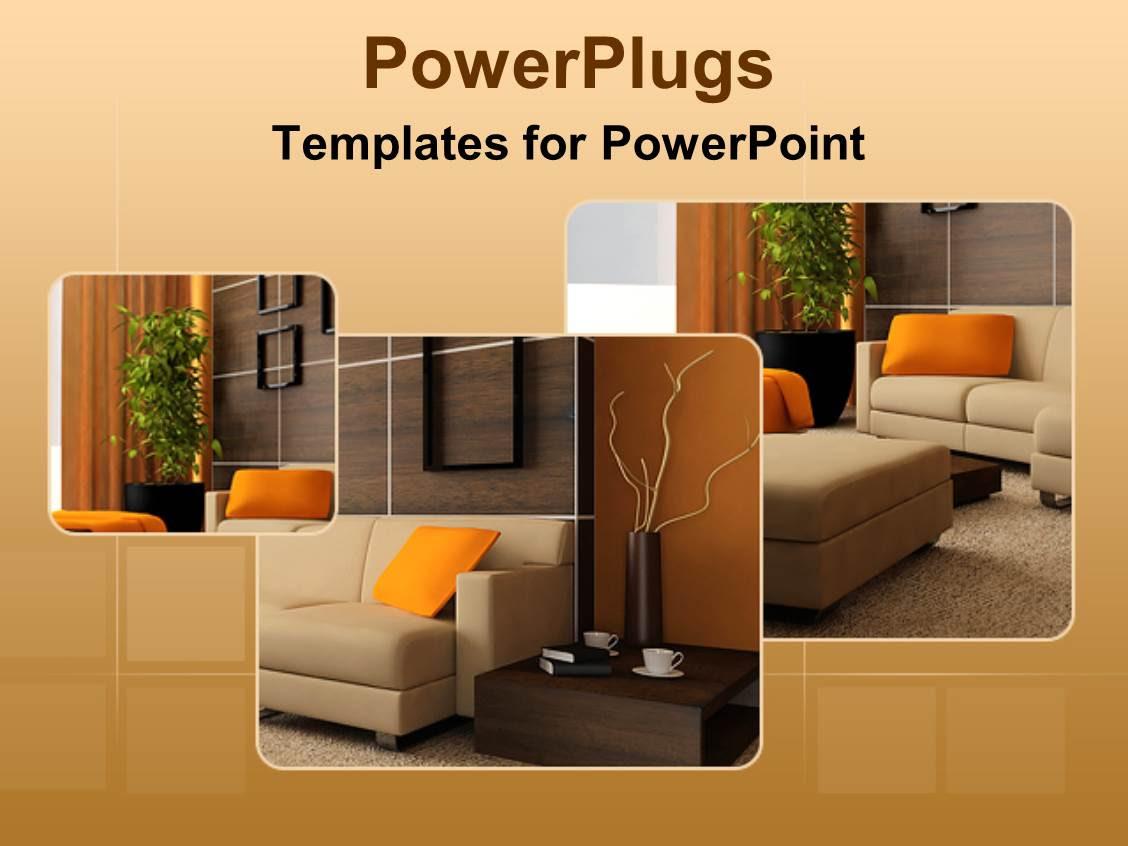 Interior Design Website Template #42345