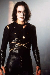 Brandon Lee dans The Crow