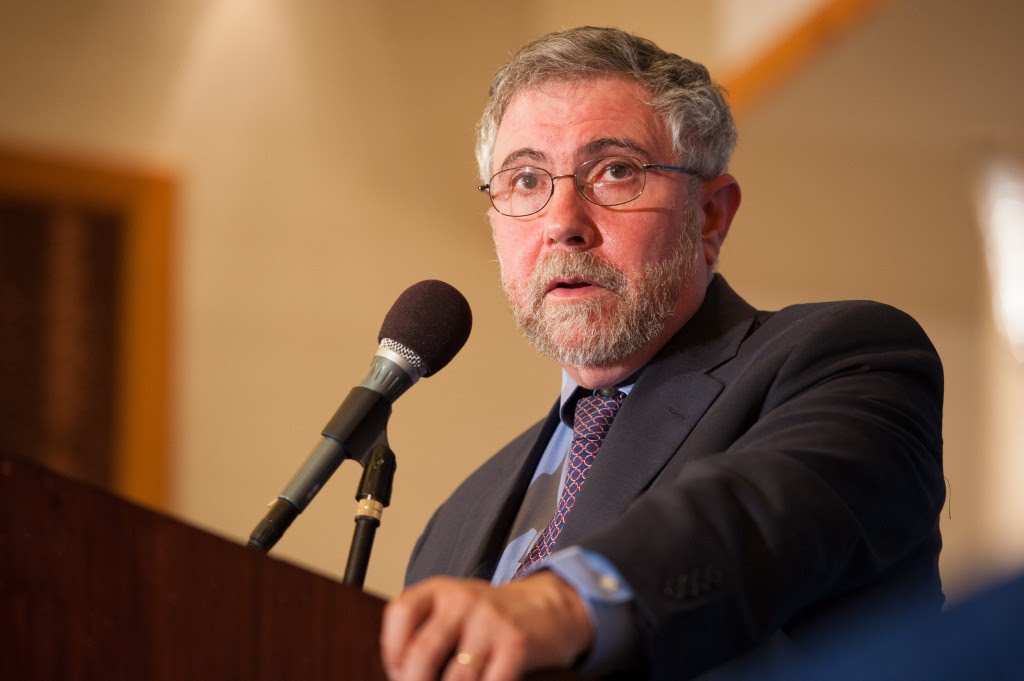 Paul Krugman doesn't see inflation as an immediate threat, and if it becomes one, he thinks the Fed has the tools and the will to deal with it. Photo by Flickr user Commonwealth Club.