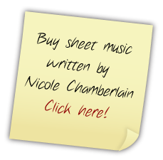 Buy sheet music written by Nicole Chamberlain