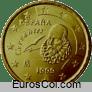 Moneda de 10 centimos de España (1a edicion)
