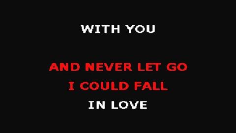 I Could Fall In Love Selena Lyrics Karaoke