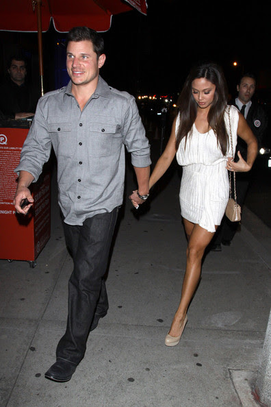 Nick Lachey Nick Lachey and fiancee Vanessa Minnillo head from a romantic Saturday night meal at the BOA Steakhouse. The happy couple are set to marry this year after becoming engaged last October. Photograph: © David Tonnessen, PacificCoastNews.com**FEE MUST BE AGREED PRIOR TO USAGE** **E-TABLET/IPAD & MOBILE PHONE APP PUBLISHING REQUIRES ADDITIONAL FEES** UK OFFICE:+44 131 557 7760/7761 US OFFICE:1 310 261 9676