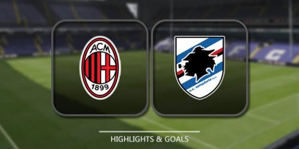 مشاهدة مباراة ميلان و سامبدوريا مباشر - الدوري الإيطالي