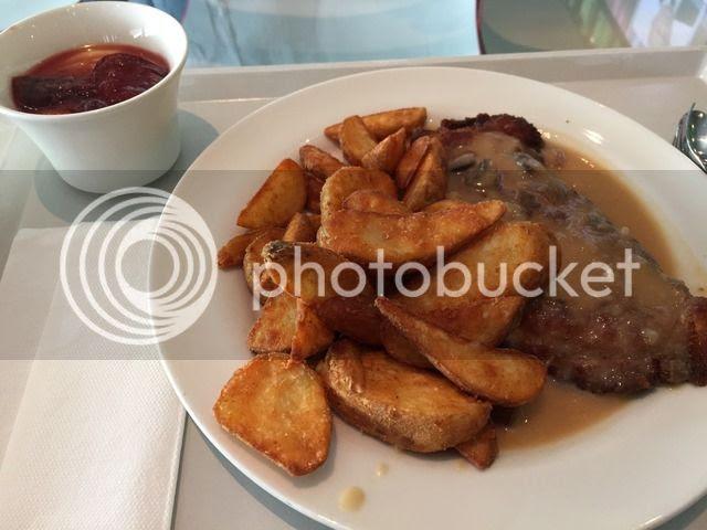 Schnitzel mit Wedges