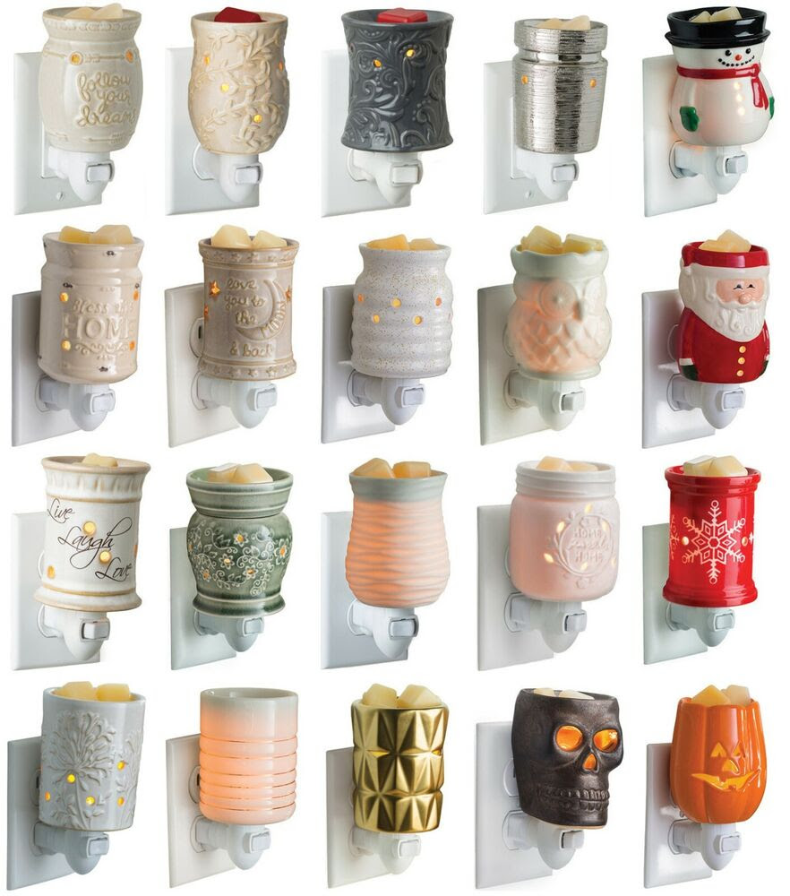 Pluggable CANDLE WARMERS Use With Scentsy Yankee Woodwick ...