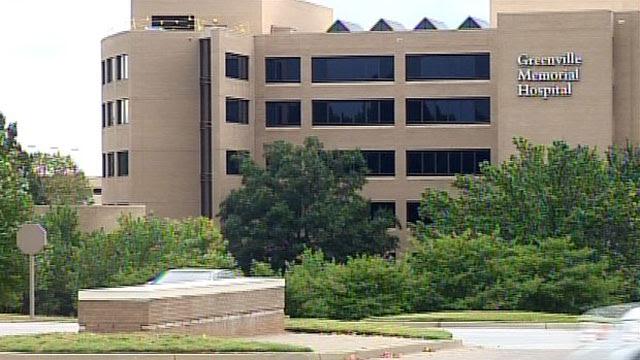 Greenville Memorial Hospital. (File/FOX Carolina)