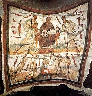 Catacomb of Saints Marcellinus and Peter on th...