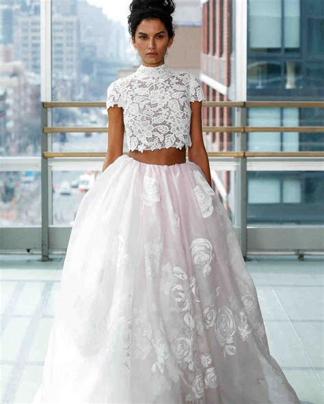 50 Two Piece Wedding Dresses   Martha Stewart Weddings