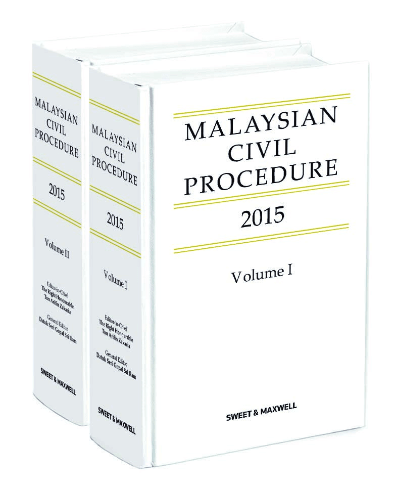 Malaysia Civil Procedure 2015 (2 Volumes)