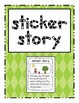 Sticker Story Writing center