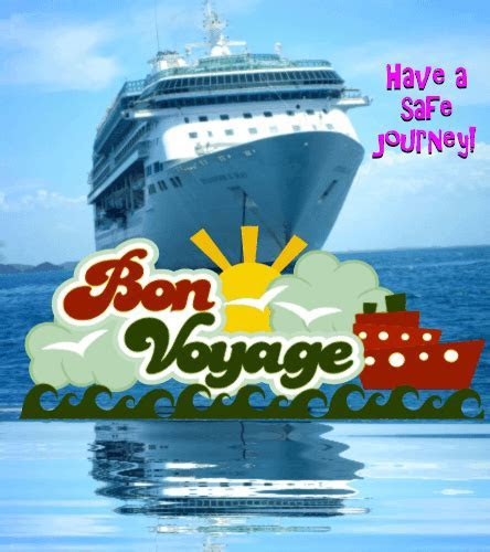 Wishes For A Safe Journey. Free Bon Voyage eCards